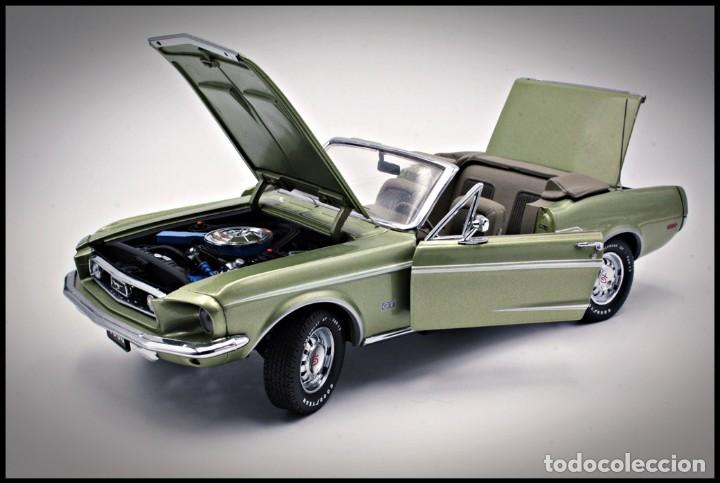 Coches a escala: Ford Mustang Convertible 1968. Franklin Mint. . Collector Club Exclusive Edition. Scale 1/24 - Foto 2 - 206177560