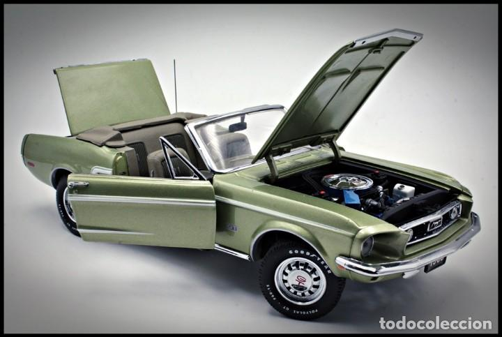 Coches a escala: Ford Mustang Convertible 1968. Franklin Mint. . Collector Club Exclusive Edition. Scale 1/24 - Foto 3 - 206177560