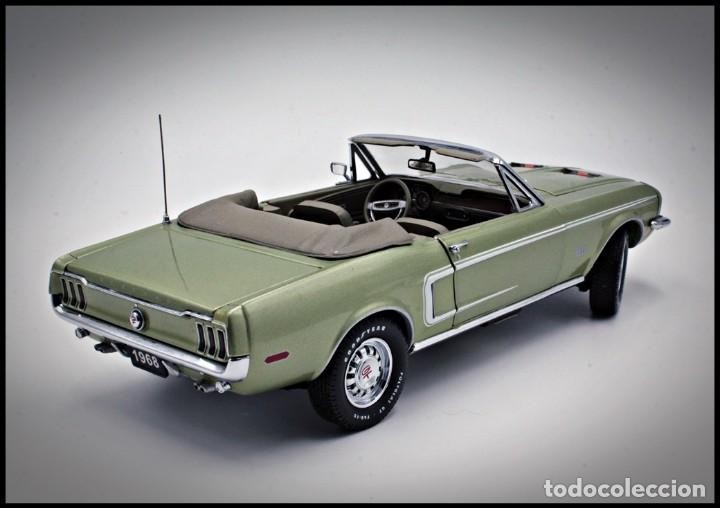 Coches a escala: Ford Mustang Convertible 1968. Franklin Mint. . Collector Club Exclusive Edition. Scale 1/24 - Foto 4 - 206177560