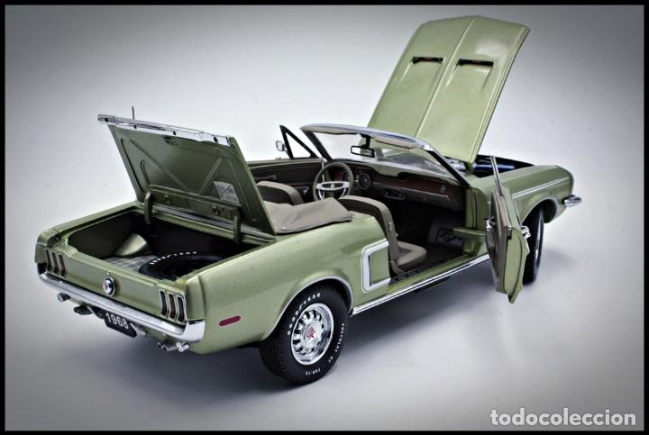 Coches a escala: Ford Mustang Convertible 1968. Franklin Mint. . Collector Club Exclusive Edition. Scale 1/24 - Foto 5 - 206177560