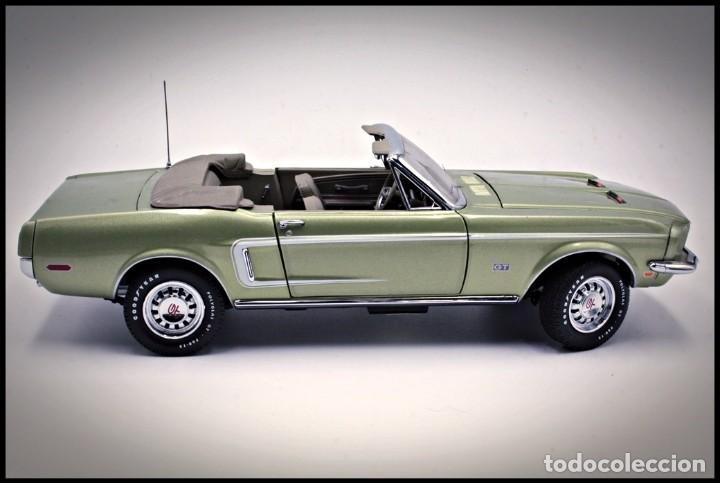Coches a escala: Ford Mustang Convertible 1968. Franklin Mint. . Collector Club Exclusive Edition. Scale 1/24 - Foto 6 - 206177560