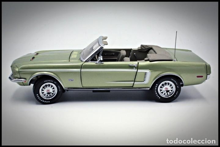 Coches a escala: Ford Mustang Convertible 1968. Franklin Mint. . Collector Club Exclusive Edition. Scale 1/24 - Foto 7 - 206177560