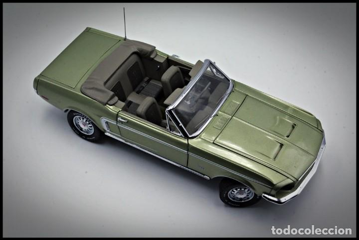 Coches a escala: Ford Mustang Convertible 1968. Franklin Mint. . Collector Club Exclusive Edition. Scale 1/24 - Foto 15 - 206177560