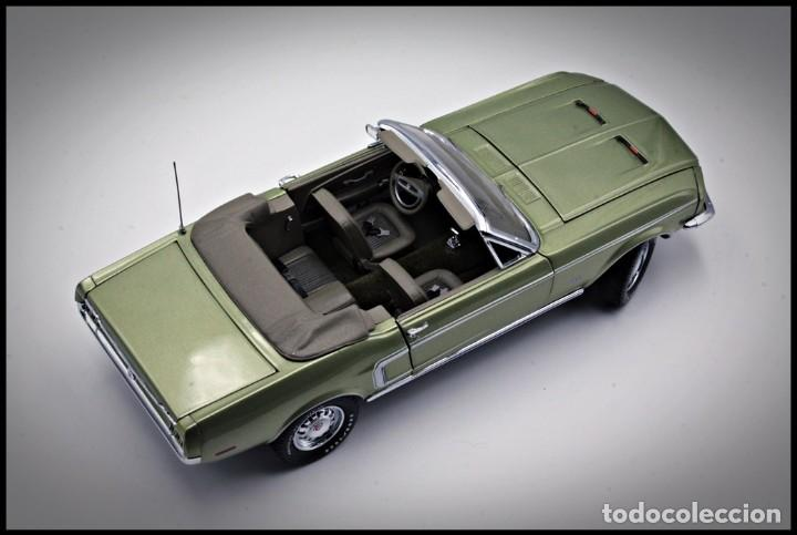 Coches a escala: Ford Mustang Convertible 1968. Franklin Mint. . Collector Club Exclusive Edition. Scale 1/24 - Foto 16 - 206177560