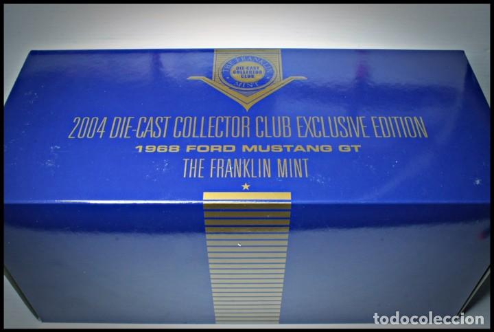 Coches a escala: Ford Mustang Convertible 1968. Franklin Mint. . Collector Club Exclusive Edition. Scale 1/24 - Foto 20 - 206177560