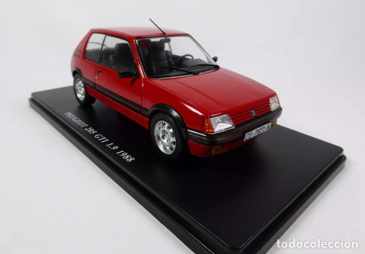 Coches a escala: Precioso coche PEUGEOT 205 GTI 1.9 Ixo 1:24 - Foto 3 - 206277572