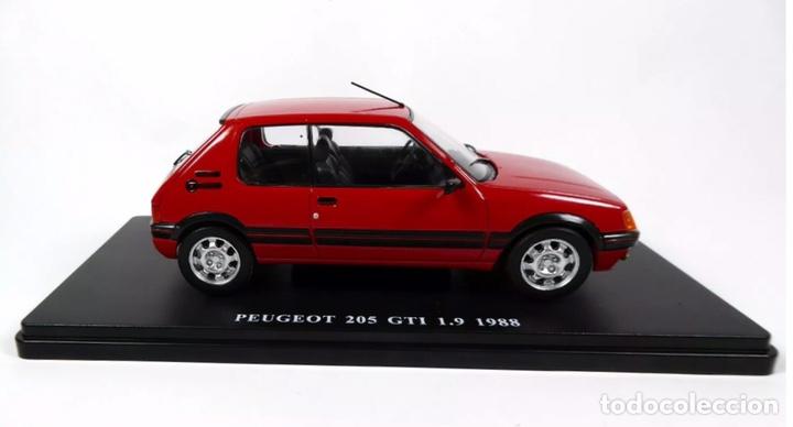 Coches a escala: Precioso coche PEUGEOT 205 GTI 1.9 Ixo 1:24 - Foto 4 - 206277572