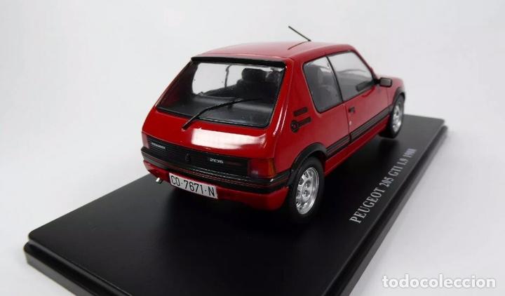 Coches a escala: Precioso coche PEUGEOT 205 GTI 1.9 Ixo 1:24 - Foto 5 - 206277572