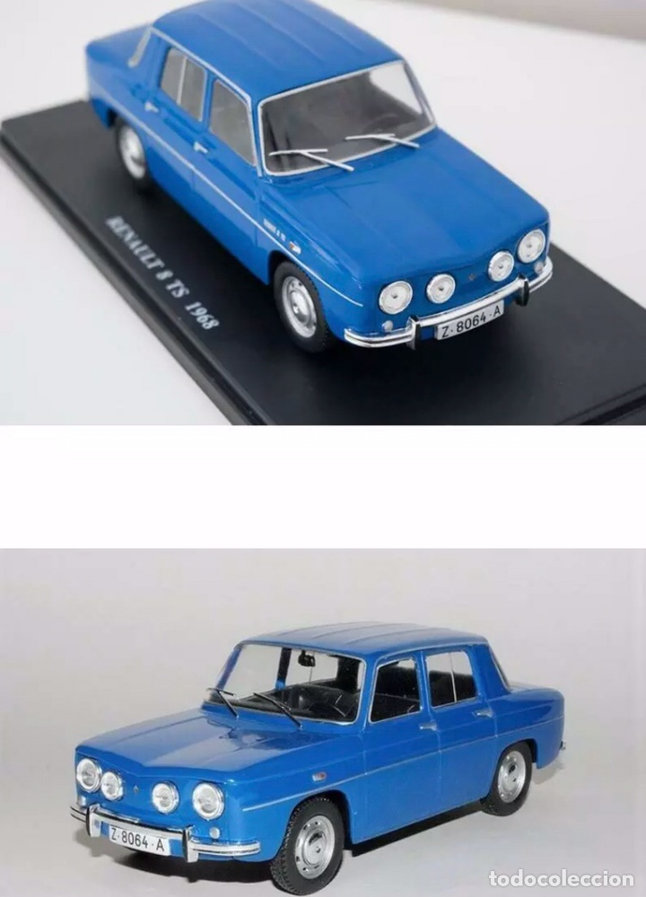 Coches a escala: Precioso coche RENAULT 8 TS Ixo 1:24 - Foto 4 - 206296745