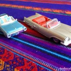 Coches a escala: CHRYSLER 300 E 1959 Y CHRYSLER TURBINE CAR 1964. AÑO 2000. NUEVOS.. Lote 207066897
