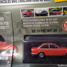 Coches a escala: SEAT 124 SPORT CUPÉ. Lote 207243412