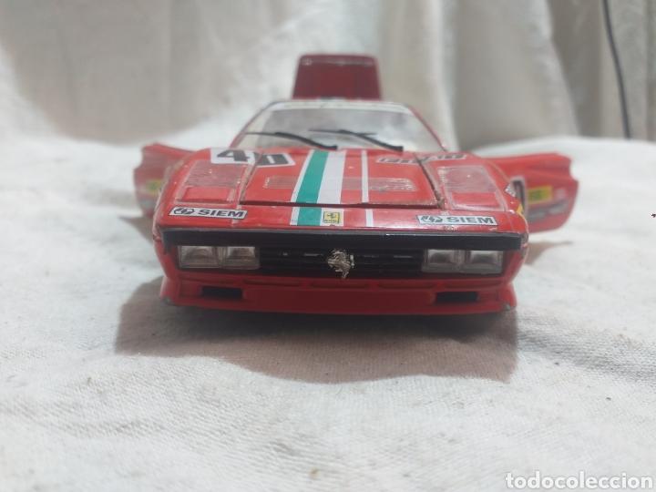 Coches a escala: COCHE BURRAGO A ESCALA 1/24 FERRARI GTO 1984 - Foto 6 - 209659451