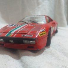 Coches a escala: COCHE BURRAGO A ESCALA 1/24 FERRARI GTO 1984. Lote 209659451