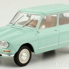 Auto in scala: CITROEN AMI 6 BREAK CLUB ESCALA 1/24 DE HACHETTE. Lote 240634470