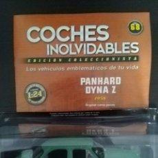 Coches a escala: SALVAT. FASCÍCULO COCHES INOLVIDABLES #68. PANHARD DYNA Z. LEER DESCRIPCIÓN.. Lote 214405175