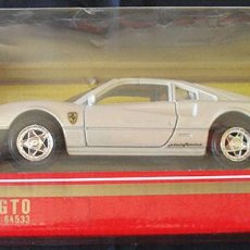 Coches a escala: FERRARI GTO BLANCO - GUILOY - ESCALA 1/24 - MADE IN SPAIN - REF: 64533 - NUEVO -. Lote 216836346