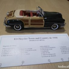 Coches a escala: FRANKLIN MINT.CHRYSLER TOWN AND COUNTRY 1948. Lote 217431803