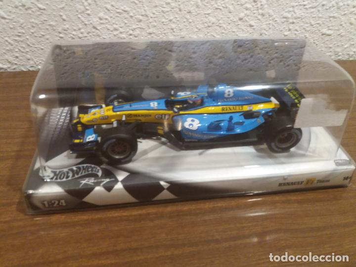 RENAULT F1 FERNANDO ALONSO HOT WHEELS ESCALA 1:24 (Juguetes - Coches a Escala 1:24)