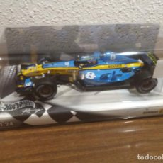 Coches a escala: RENAULT F1 FERNANDO ALONSO HOT WHEELS ESCALA 1:24. Lote 218057902