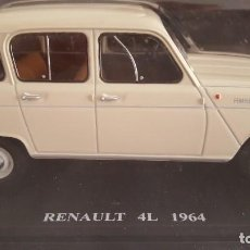 Coches a escala: RENAULT 4L 1964 1973, ESCALA 1:24 NUEVO EN SU BLISTER SIN ABRIR (SIN FASCICULO (COCHES INOLVIDABLES). Lote 218766990