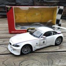 Coches a escala: MOTORAMA ESCALA 1/24 BMW Z4 M COUPÉ RACING #4. Lote 220253753