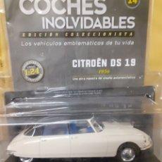 Coches a escala: SALVAT CITROEN DS 19 1956 EN BLISTER NUEVO Y FASCICULO. Lote 221767665