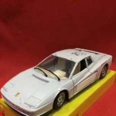 Coches a escala: BURAGO FERRARI TESTAROSSA (1984) SCALA 1/24 - MADE IN ITALY. Lote 227591190
