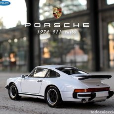 Coches a escala: WELLY-COCHE DEPORTIVO 1:24 1974 PORSCHE 911 TURBO3.0. Lote 227967845