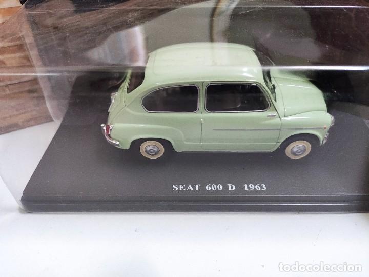 SEAT 600 D 1963 ESCALA 1/24, SALVAT, NUEVO (Juguetes - Coches a Escala 1:24)