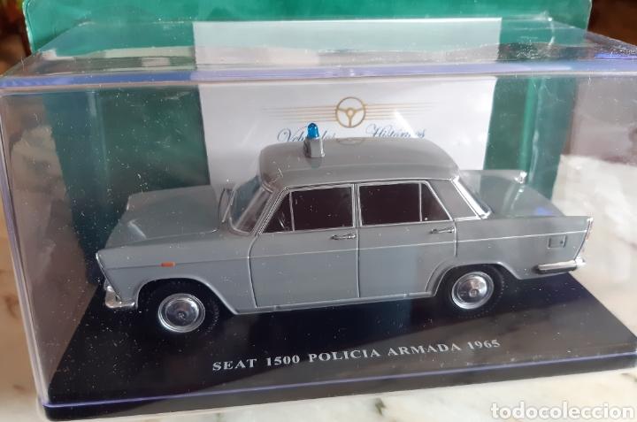 SEAT 1500 POLICÍA ARMADA. 1965 (Juguetes - Coches a Escala 1:24)