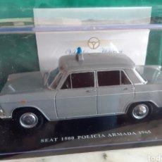 Coches a escala: SEAT 1500 POLICÍA ARMADA. 1965. Lote 231350635