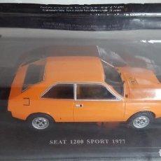 Coches a escala: SEAT 1200 SPORT 1977 ESCALA 1:24, NUEVO. Lote 233012952