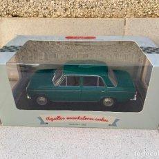 Coches a escala: SEAT 124 DE 1969 SALVAT ESCALA 1/24. Lote 234338110