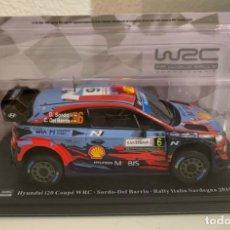 Coches a escala: HYUNDAI I20 COUPE WRC - SORDO - RALLY ITALIA 2019 - 1:24. Lote 236643765