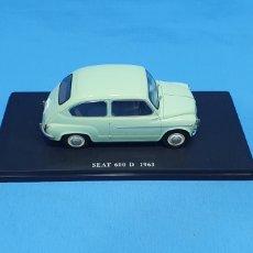 Coches a escala: SEAT 600 D 1963 DE ALTAYA. Lote 238379795