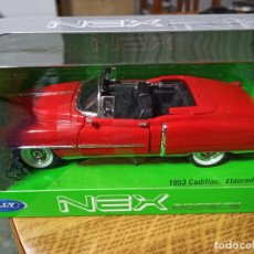 Coches a escala: CADILLA 1953 ELDORADO DESCAPOTABLE 1:24 NUEVO SIN USO NEX MODELS WELLY. Lote 240865385