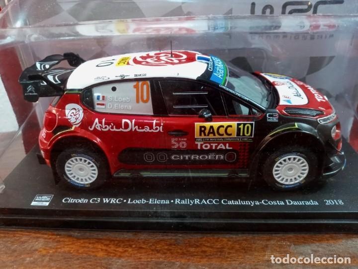 Coches a escala: WRC WORLD RALLY CHAMPIONSHIP N. 3 - CITROEN C3 WRC SEBASTIEN LOEB CATALUÑA 2018 (PRECINTADO) - Foto 2 - 241819855