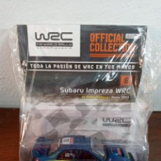 Coches a escala: WRC WORLD RALLY CHAMPIONSHIP N. 6 - SUBARU IMPREZA WRC, PETTER SOLBERG GALES 2003 (PRECINTADO). Lote 241820505