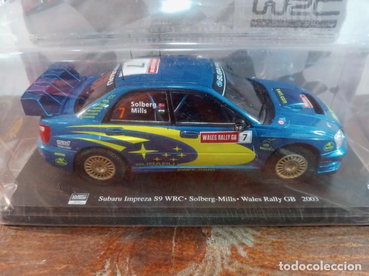 Coches a escala: WRC WORLD RALLY CHAMPIONSHIP N. 6 - SUBARU IMPREZA WRC, PETTER SOLBERG GALES 2003 (PRECINTADO) - Foto 2 - 241820505