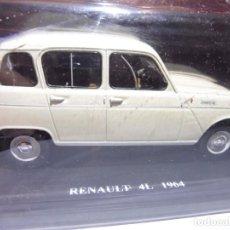 Voitures à l'échelle: RENAULT 4L 1964 EDITORIAL SALVAT EN BLISTER. Lote 244599925