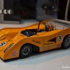 Coches a escala: 1:25 POLITOYS MC LAREN CHEVROLET M8F CAN AM RARO. Lote 245593060