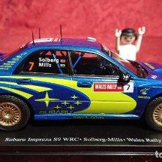 Coches a escala: COCHE DE COLECCION SUBARU IMPREZA S9 WRC - SOLBERG -MILLS- WALES RALLY GB 2003 - ESCALA 1:24 -. Lote 246159810