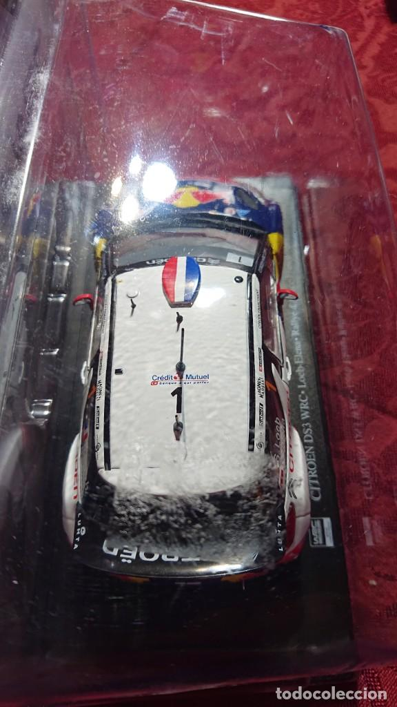 Coches a escala: COCHE CITROËN DS3 WRC - LOEB-ELENA - RALLYE DALSACE-FRANCE 2012 - LICENCIA RED BULL - ESCALA 1:24 - Foto 2 - 246225615
