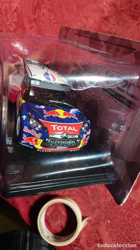 Coches a escala: COCHE CITROËN DS3 WRC - LOEB-ELENA - RALLYE DALSACE-FRANCE 2012 - LICENCIA RED BULL - ESCALA 1:24 - Foto 3 - 246225615
