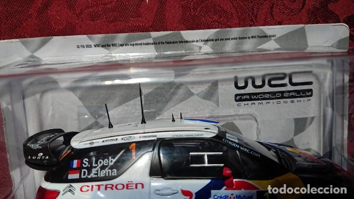 Coches a escala: COCHE CITROËN DS3 WRC - LOEB-ELENA - RALLYE DALSACE-FRANCE 2012 - LICENCIA RED BULL - ESCALA 1:24 - Foto 6 - 246225615