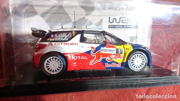 Coches a escala: COCHE CITROËN DS3 WRC - LOEB-ELENA - RALLYE DALSACE-FRANCE 2012 - LICENCIA RED BULL - ESCALA 1:24 - Foto 7 - 246225615