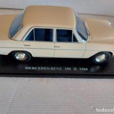 Coches a escala: MERCEDES-BENZ 200 D / AÑO 1968 / DE SALVAT / MATRÍCULA PALMA DE MALLORCA / COMO SE VE EN LA FOTO.. Lote 247116730