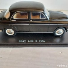 Coches a escala: SEAT 1400 B / AÑO 1956 / DE SALVAT / MATRÍCULA CIUDAD REAL / COMO SE VE EN LA FOTO.. Lote 251638240