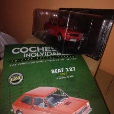 Coches a escala: SEAT 127 COCHES INOLVIDABLES. 1973. (ESCALA 1/24). SALVAT. INCLUIDO FASCICULO N°13. Lote 253855590