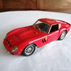 Coches a escala: BURAGO 1/24 FERRARI 250 GTO 1962 METAL. Lote 254448395